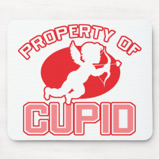 Property of Cupid Valentine's Day Mousepad