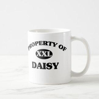 Property of DAISY Classic White Coffee Mug