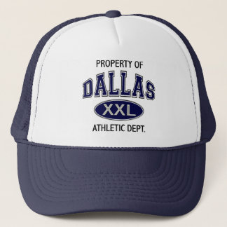 PROPERTY OF DALLAS ATHLETIC DEPT TRUCKER HAT