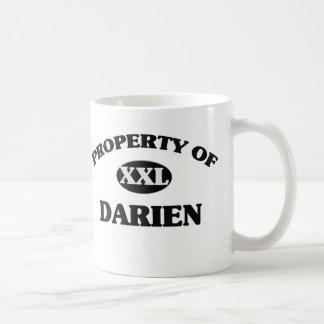 Property of DARIEN Classic White Coffee Mug