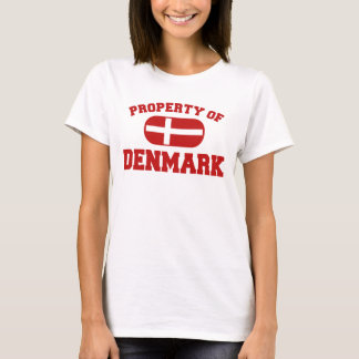 Made in denmark women 39 s clothing apparel zazzle for Property of shirt designs