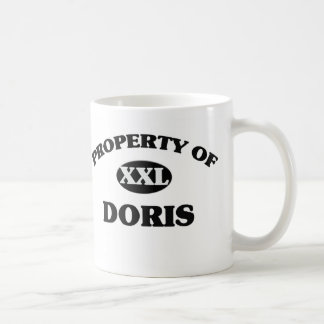 Property of DORIS Coffee Mug