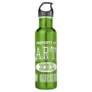 Property of Earth Day Go Green 24oz Water Bottle