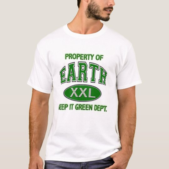 PROPERTY OF_EARTH KEEP IT CLEAN DEPT T-Shirt
