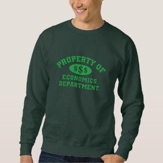 Property Of Economics Department Sweatshirt