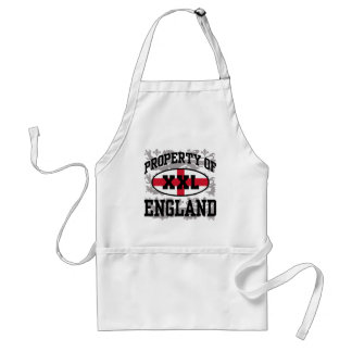 Property of England Adult Apron