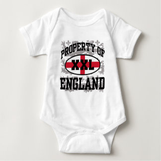 Property of England Baby Bodysuit