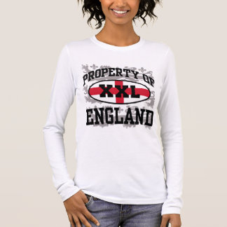 Property of England Long Sleeve T-Shirt