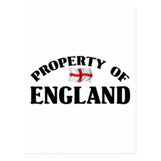 Property Of England Postcard