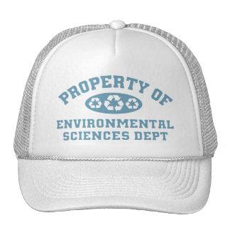 Property Of Environmental Sciences Dept Trucker Hat