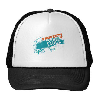 Property Of Esther.png Trucker Hat