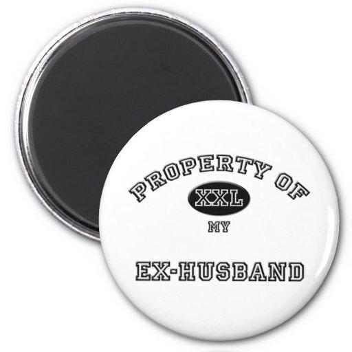 Property of Ex-Husband Magnets