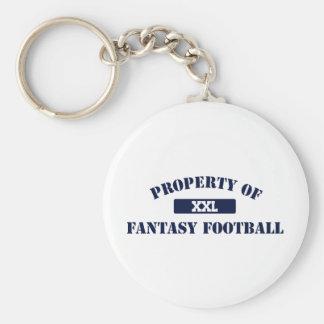 Property of Fantasy Football Keychain