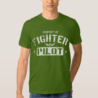 Property Of Fighter Pilot Shirt