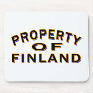 Property Of Finland Mouse Pad