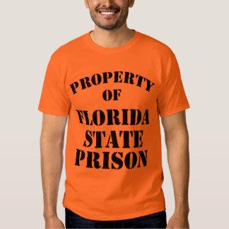 Property of Florida State Prison Tee Shirt