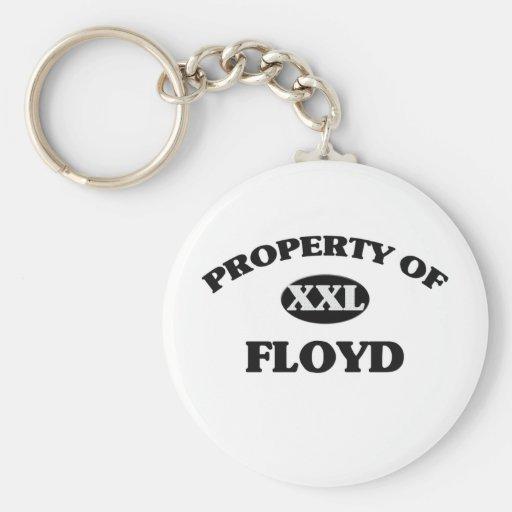 Property of FLOYD Keychain