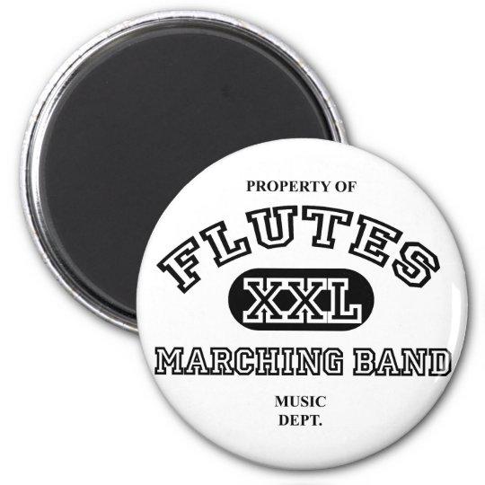Property of Flutes Magnet
