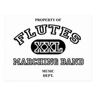 Property of Flutes Postcard