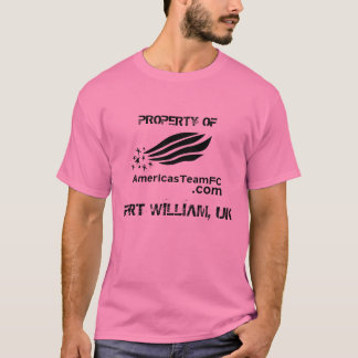 PROPERTY OF, FORT WILLIAM, UK Spandex T-Shirt