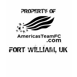 PROPERTY OF, FORT WILLIAM, UK Spandex shirt