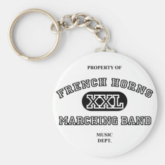 Property of French Horns Keychain
