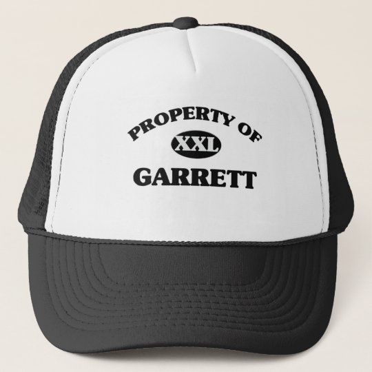 Property of GARRETT Trucker Hat