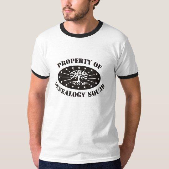 Property Of Genealogy Squad T-Shirt
