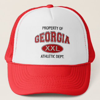PROPERTY OF GEORGIA ATHLETIC DEPT TRUCKER HAT