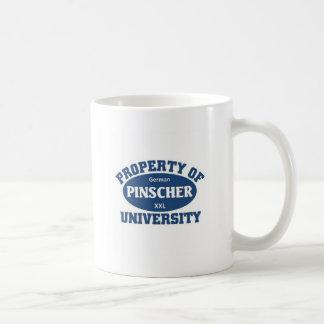 Property of German Pinscher University Mugs