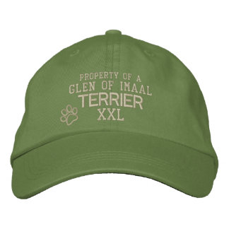 Property of Glen of Imaal Terrier Embroidered Hat