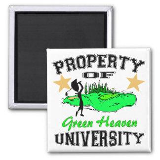 Property Of Golfer University Refrigerator Magnets