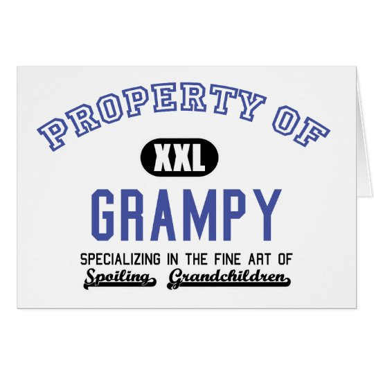Property of Grampy Card