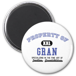 Property of Gran 2 Inch Round Magnet