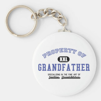 Property of Grandfather Key Chain