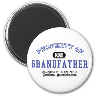 Property of Grandfather Refrigerator Magnet