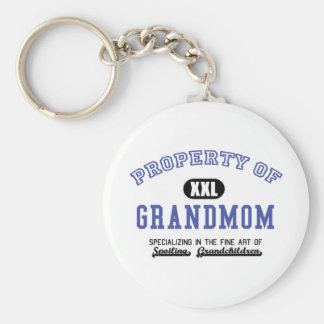 Property of Grandmom Key Chain