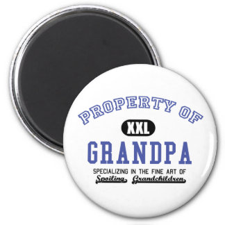Property of Grandpa 2 Inch Round Magnet