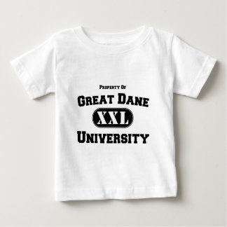 Property of Great Dane University Baby T-Shirt