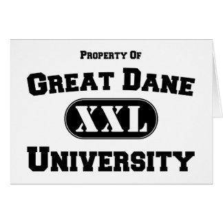 Property of Great Dane University Card