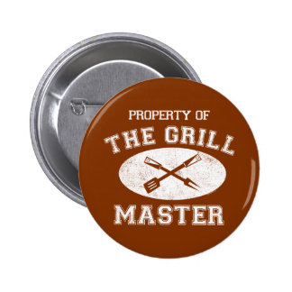 Property of Grill Master Button