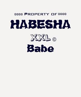 Property of HABESHA Babe Shirts