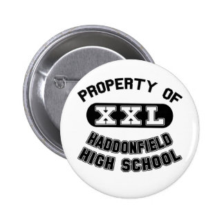 Property of Haddonfield High School Button