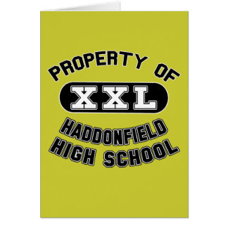 Property of Haddonfield High School Greeting Card