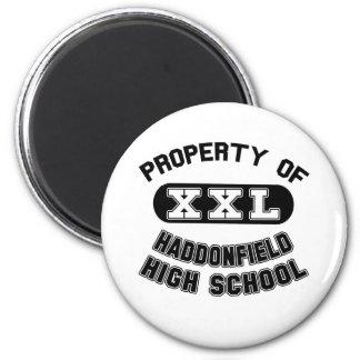 Property of Haddonfield High School 2 Inch Round Magnet