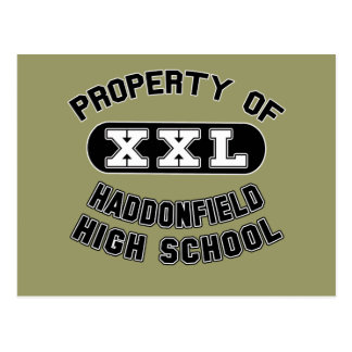 Property of Haddonfield High School Post Cards