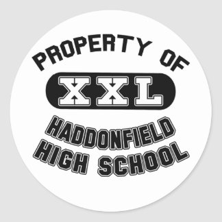 Property of Haddonfield High School Stickers