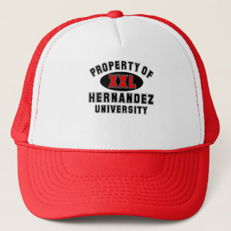 Property of Hernandez University Trucker Hat