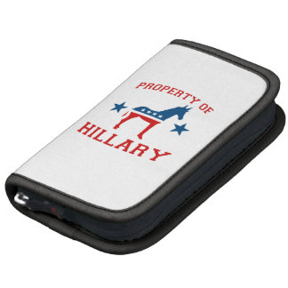 PROPERTY OF HILLARY PLANNER