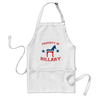 PROPERTY OF HILLARY.png Adult Apron